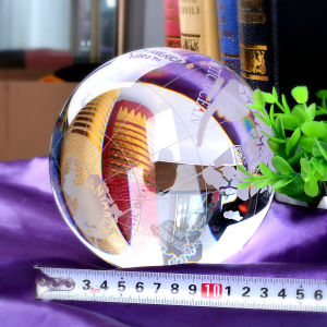 Big Crystal Glass World Tellurion Ball Earth Globe pictures & photos