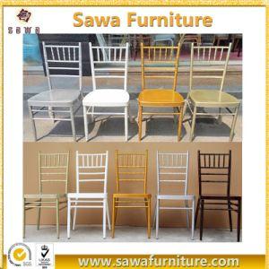 Cheap Metal Chiavari Chairs Wedding Banquet Rental Chairs pictures & photos