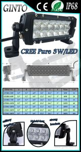 Waterproof IP68 Offroad Jeep LED Light Bar 52inch pictures & photos