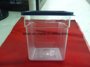 2L to 22L Clear Plastic Food Storage Container pictures & photos