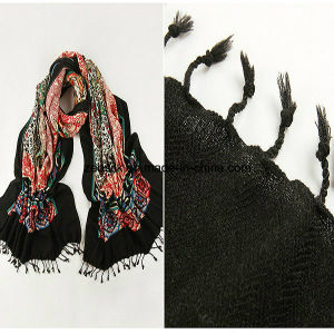 Wool Long Scarf for Middle East pictures & photos