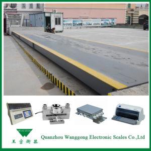 Scs-100 3*16m 100t Weighbridge Truck Scales pictures & photos