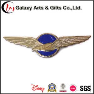 3D Enamel Lapel Pin Badge Logo for Eagle pictures & photos