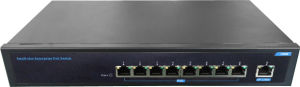 15.4W 9 Port Unmanaged Poe Ethernet Network Switch pictures & photos