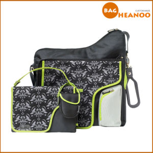 Casual Printing Shoulder Travel Outdoor Mother Nappy Baby Diaper Bags pictures & photos