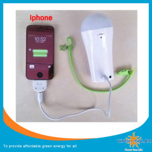 3W LED Solar Emergency Lamp with Charger pictures & photos