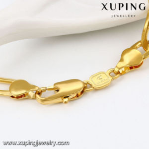 43121 Fashion 24k Gold Plated Jewelry Statement Long Chain Necklace for Men pictures & photos