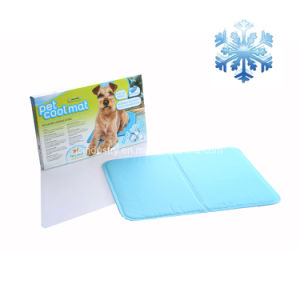 Waterproof Logo Printing Dog Cooling Mat pictures & photos
