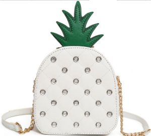 New Personality Female Bag Pineapple Messenger Bag