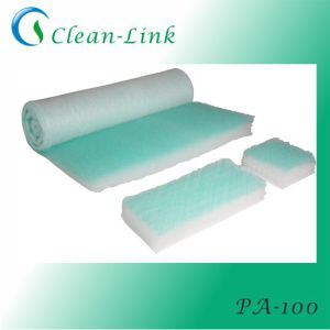 Green and White Air Filter Cotton for Spray Booth Air Filter Cotton pictures & photos