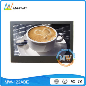 Wireless WiFi 3G 4G 12 Inch Poe Android OS LCD Advertising Equipment pictures & photos