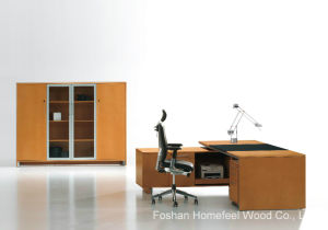 High End L-Shape Office Desk Managing Director Executive Table (HF-MH09241) pictures & photos