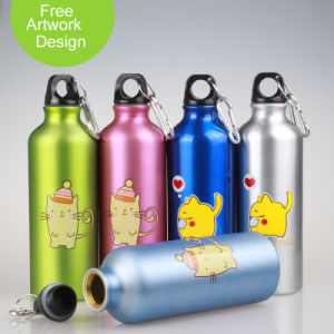 Water Bottle with Customer Logo Passed FDA Test pictures & photos