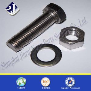 Made in China Stainless Steel Bolt (DIN933) pictures & photos