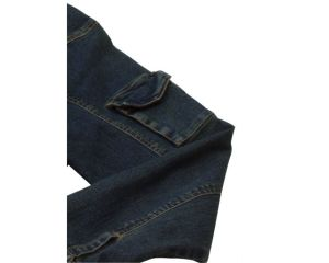 Men Heavyweight Wearable Washed Denim Work Jacket pictures & photos