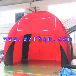 Oxford Cloth Red Inflatable Tent/Family Use Inflatable Tent pictures & photos