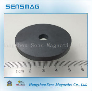 Manufacture Customized Powerful Permanent Ferrite Ring Magnet for Motor pictures & photos