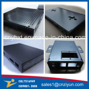 Customized Sheet Metal Stamping with Black Powder Coating pictures & photos