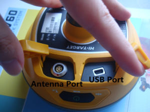 Hi-Target Convenient and Efficient GPS Receiver V100 Gnss Network Rtk Dgps Rtk Receiver pictures & photos