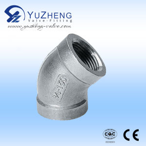 Female Thread 3way Stainless Steel Pipe Fittings pictures & photos