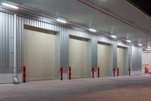 Insulated Galvanzied Steel/ Polyurethane Foam Rolling Shutter Door pictures & photos