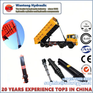 Dump Hydraulic Cylinder for Dump Truck Hyva Type Parker Type pictures & photos