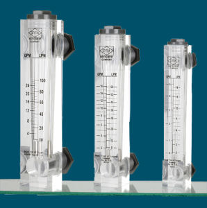 Flow Meter with Pipe and Panel Type for RO Water Purification pictures & photos
