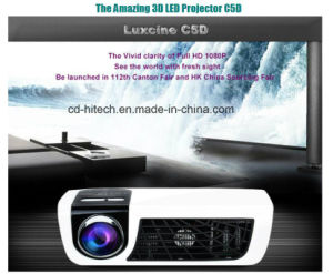 Home Cinema 3D LED Projector with Full HD 1080P