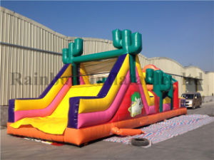 Cowboy Theme Inflatable Obstacle Course for Sale (RB5037) pictures & photos