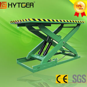 Stationary Hydraulic Scissors Lift (Single Scissors) pictures & photos