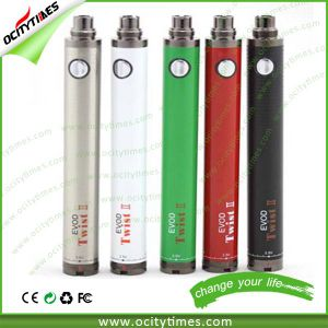 2015 Rechargeable Evod Twist II/Evod Twist 2 Battery/1600mAh Evod Twist 2 in Stock pictures & photos