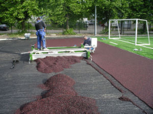 Paver Machine for Sports Surface pictures & photos