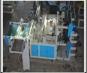Automatic Poly String Drawing Bag Making Machine (DC-ZC1000) pictures & photos