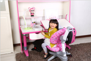 5 Degree Tilting Desktop Children Table with Pulled Drawer pictures & photos