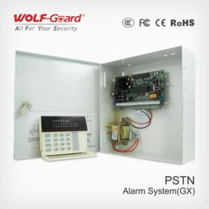 Dual Network Burglar Calling GSM/PSTN Alarm System for Monitoring Center pictures & photos