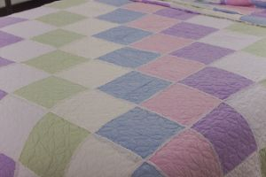3 PCS Polyester Bedding Set Patchwork Quilt pictures & photos