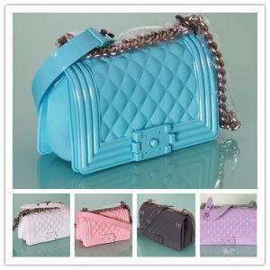 Guangzhou Suppliers Fashion Candy Handbags Jelly Bags of Women (J-892)