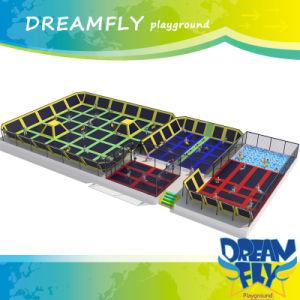 Air Bouncer Folding Indoor Trampoline Arena Design