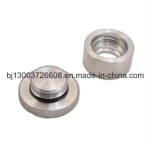 OEM Knurled Aluminum Hole Plug with CNC Machining pictures & photos