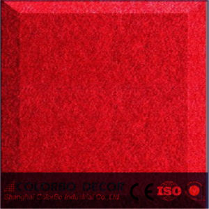 Cinema Polyester Fiber Acoustic Decorative Wall Panel pictures & photos