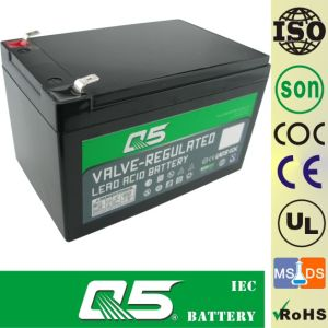 12V14AH, 48V14AH, 36V14AH Battery for Electric Bicycle UPS backup pictures & photos