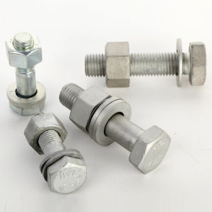 Grade 10.9 Dacromet Finish Hex Head Bolt pictures & photos