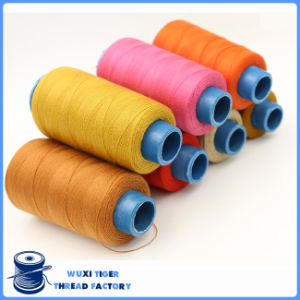 100% Spun Cotton Wraped Polyester Core Sewing Thread for Jean/Garment