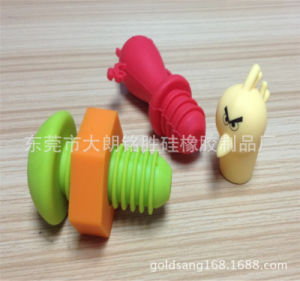 Food Grade FDA Silicone Wine Bottle Stopper pictures & photos