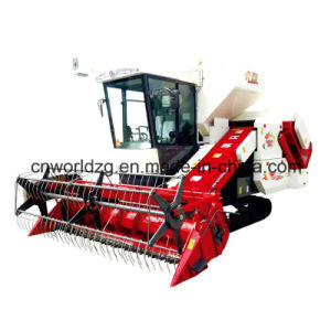 Rice and Wheat Combine Harvester with Hydraulic Gearbox pictures & photos