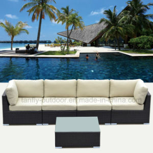Foshan Patio Furniture Arm Chair Sofa Set with Waterproof Cushion. pictures & photos