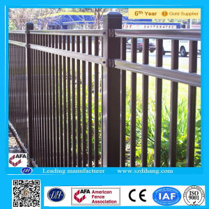 Cheap Blue Modern Galvanized Steel Fence Panels in China