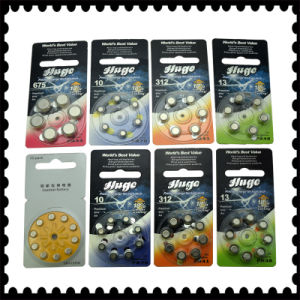 8PCS Blister Package Zinc Air Battery/Hearing Aid Battery (A10/A13/A312/A675) pictures & photos