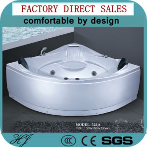 Massage Bathtub/Water Surfing Massage Bathtub/Luxury Whirlpool Massage Tub (521A) pictures & photos
