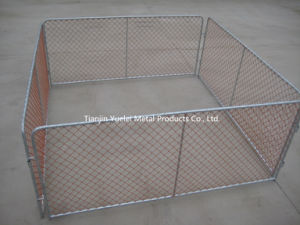 Chain Link Crowd Control Temporary Fence pictures & photos
